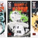 HAUNT of HORROR #1 #2 #3 Full Run Marvel Comics 2008 HP Lovecraft