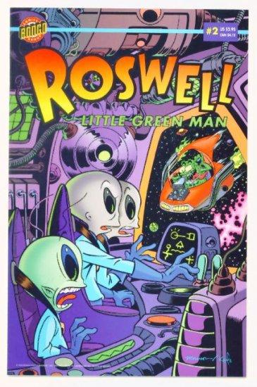 ROSWELL LITTLE GREEN MAN #2 Bongo Comics 1996