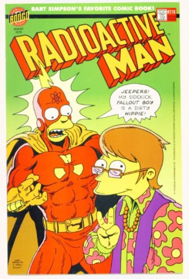 RADIOACTIVE MAN #3 Bongo Comics 1994 The Simpsons