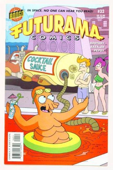 FUTURAMA #32 Bongo Comics 2007