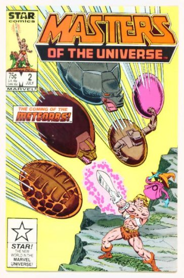 He-Man MASTERS of the UNIVERSE #2 Marvel Comics 1986