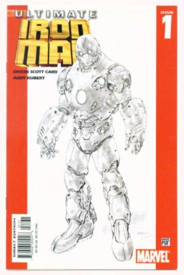 ULTIMATE IRON MAN #1 Marvel Comics 2005