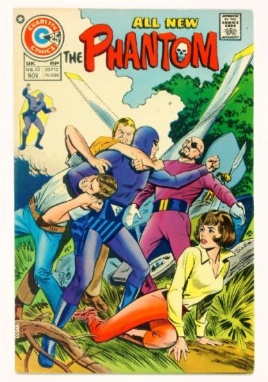 The PHANTOM #62 Charlton Comics 1974 FINE