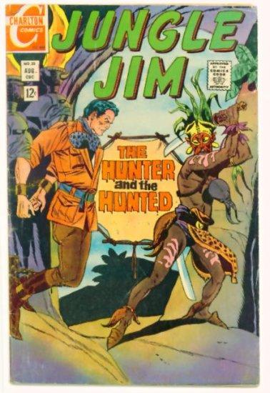 JUNGLE JIM #25 Charlton Comics 1969