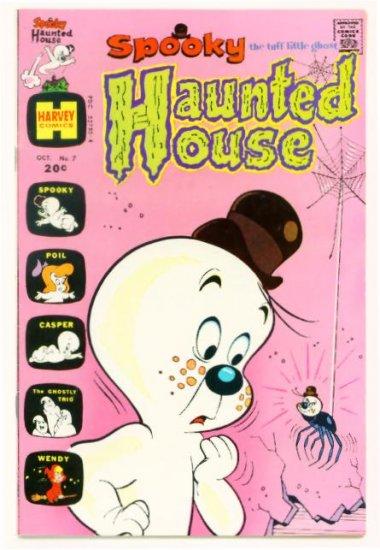 SPOOKY HAUNTED HOUSE #7 Harvey Comics 1973
