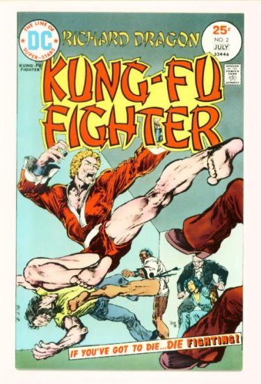 Richard Dragon KUNG-FU FIGHTER #2 DC Comics 1975 Very Fine