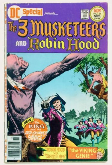 The THREE MUSKETEERS DC SPECIAL #24 DC Comics 1976