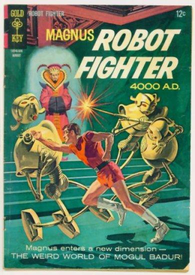 MAGNUS Robot Fighter #15 Gold Key Comics 1966 Russ Manning
