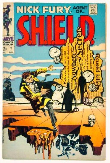 NICK FURY Agent of SHIELD #7 Marvel Comics 1968 Steranko Salvador Dali