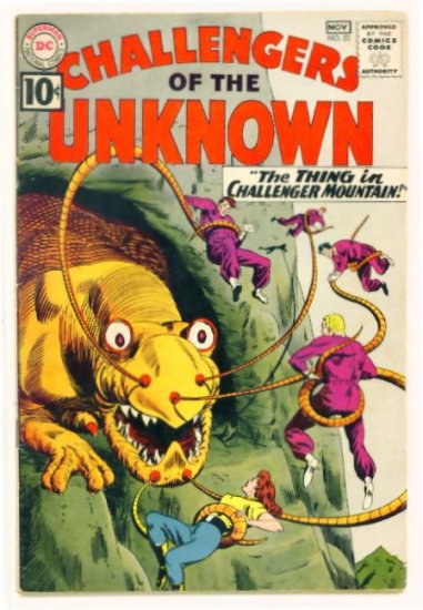 CHALLENGERS of the UNKNOWN #22 DC Comics 1961