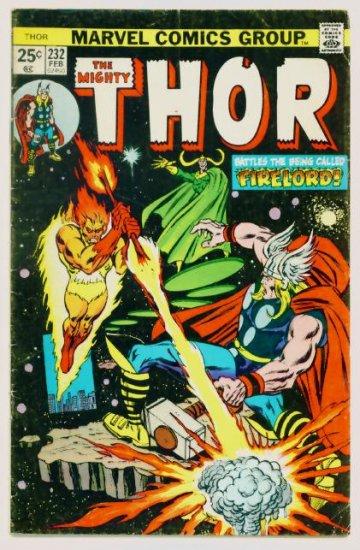 THE MIGHTY THOR #232 Marvel Comics 1975