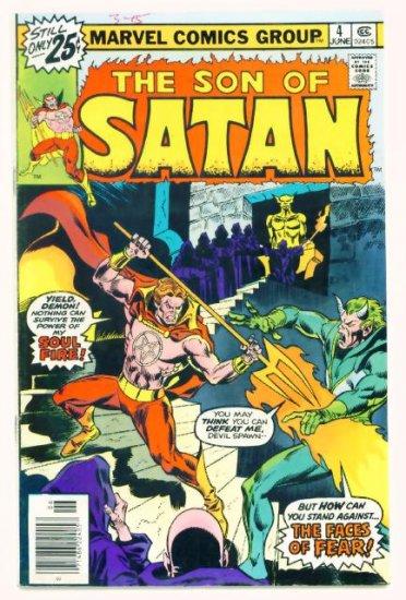 The SON of SATAN #4 Marvel Comics 1976