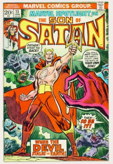 MARVEL SPOTLIGHT #13 Marvel Comics 1974 Third Appearance The SON of SATAN