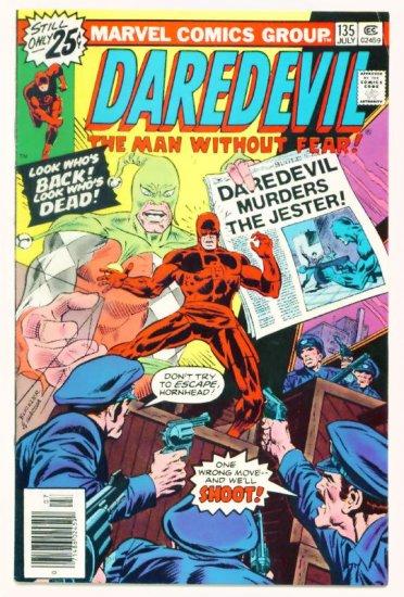 DAREDEVIL #135 Marvel Comics 1976 The Jester