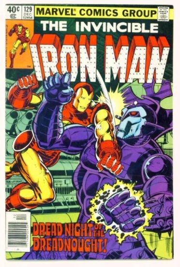 IRON MAN #129 Marvel Comics 1979 Dreadnought