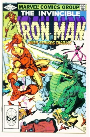 IRON MAN #159 Marvel Comics 1982 Near Mint