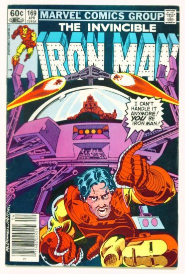 IRON MAN #169 Marvel Comics 1983 First New Iron Man