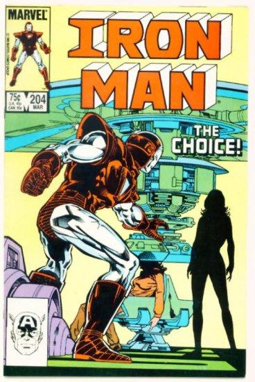IRON MAN #204 Marvel Comics 1986