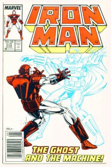 IRON MAN #219 Marvel Comics 1987