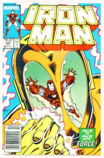 IRON MAN #223 Marvel Comics 1987