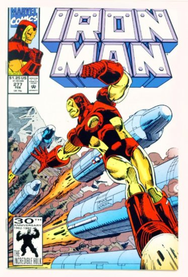 IRON MAN #277 Marvel Comics 1992