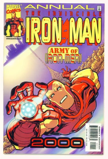 THE INVINCIBLE IRON MAN ANNUAL Marvel Comics 2000