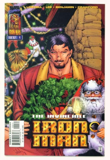 IRON MAN #4 Marvel Comics 1996