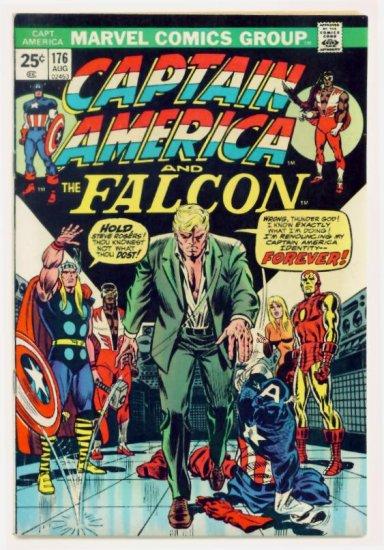 CAPTAIN AMERICA #176 Marvel Comics 1974