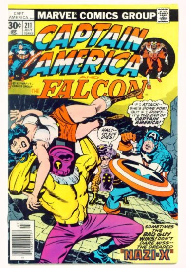 CAPTAIN AMERICA #211 Marvel Comics 1977 Jack Kirby