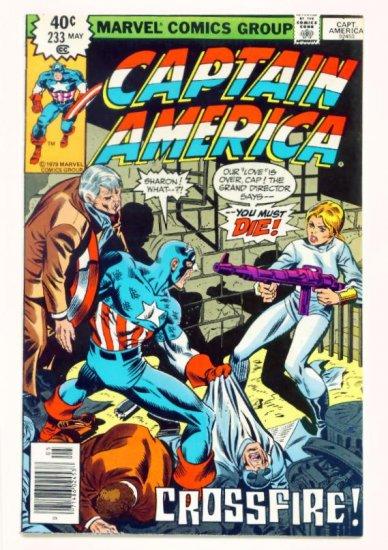 CAPTAIN AMERICA #233 Marvel Comics 1979