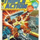 MARVEL TRIPLE ACTION #1 Marvel Comics 1972 Fantastic Four Silver Surfer