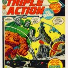 MARVEL TRIPLE ACTION #4 Marvel Comics 1972 Fantastic Four Silver Surfer