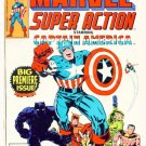 MARVEL SUPER ACTION #1 Marvel Comics 1977 Captain America