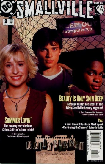 SMALLVILLE #2 DC Comics 2003 Photo Cover CW TV
