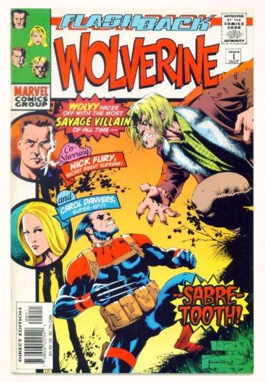 WOLVERINE #-1 Marvel Comics 1997 NM Minus One Flashback