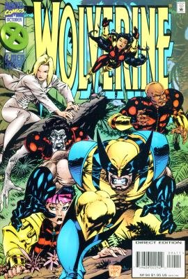 WOLVERINE #94 Marvel Comics 1995 NM