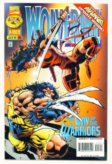 WOLVERINE #103 Marvel Comics 1996 NM
