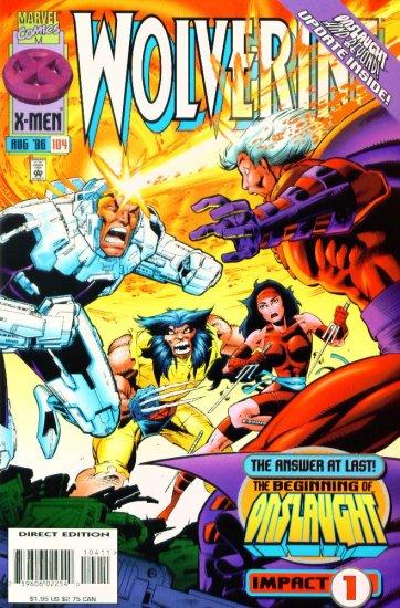 WOLVERINE #104 Marvel Comics 1996 NM