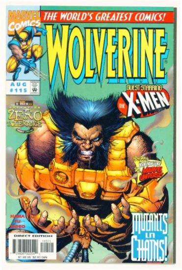 WOLVERINE #115 Marvel Comics 1997 NM X-MEN CO-STAR