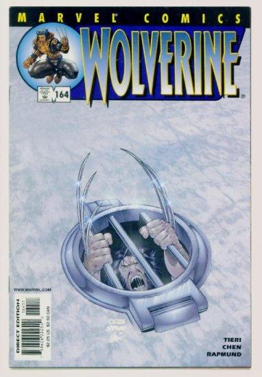 WOLVERINE #164 Marvel Comics 2001 NM Sabretooth