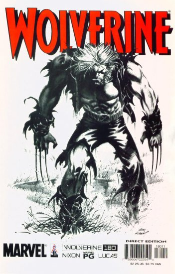 WOLVERINE #180 Marvel Comics 2002 NM