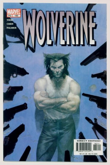 WOLVERINE #182 Marvel Comics 2002 NM