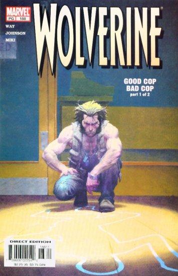 WOLVERINE #188 Marvel Comics 2003 NM