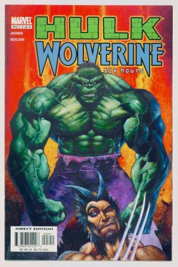 HULK WOLVERINE SIX HOURS #3 Marvel Comics 2003 NM