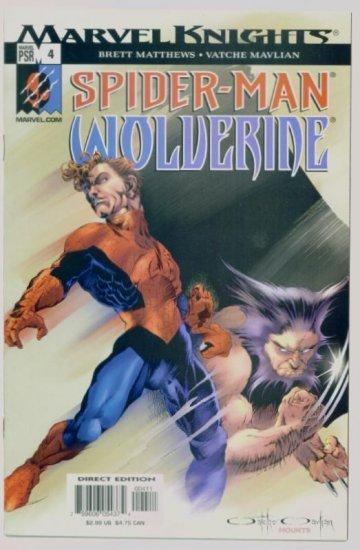 SPIDER-MAN WOLVERINE #4 Marvel Comics 2003 NM