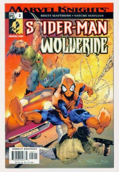 SPIDER-MAN WOLVERINE #2 Marvel Comics 2003 NM