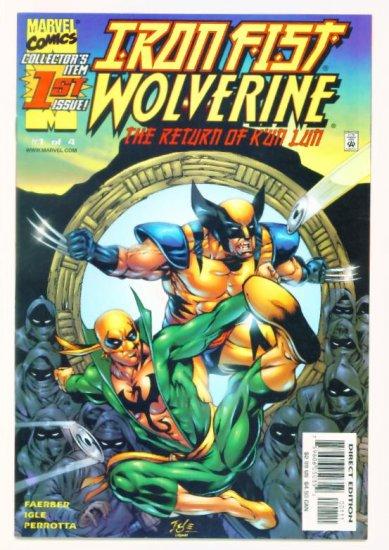 IRON FIST WOLVERINE #1 Marvel Comics 2000 NM
