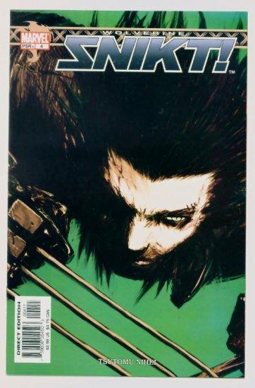 WOLVERINE SNIKT #4 Marvel Comics 2003 NM