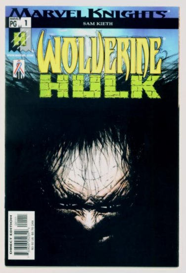 WOLVERINE HULK #1 Marvel Comics 2002 NM