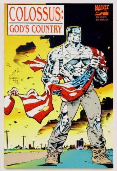 COLOSSUS GODS COUNTRY #1 Marvel Comics 1994 GIANT X-MEN